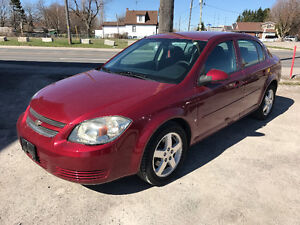 2009 CHEVROLET COBAL LT,Remote Starter Only 118000 Km