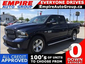 2014 RAM 1500 SPORT * 4WD *NAV * MOONROOF * BACKUP CAMERA * LEAT