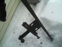 trailer hitch with ball