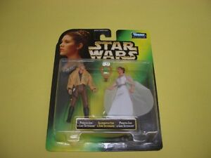 STAR WARS POTF PRINCESS LEIA COLLECTION SET OF 4 1997 London Ontario image 4