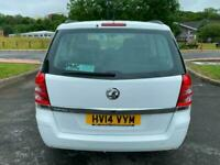 2014 Vauxhall Zafira EXCLUSIV MPV Petrol Manual