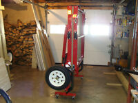 Utility Trailers- 4' x 8' - FOLDS UP - NEW