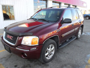 2004 GMC Envoy Base SUV *4x4* LOW KM'S* Very clean*
