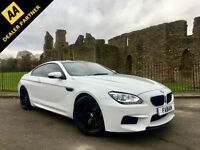 2014 BMW M6 4.4 ( 575bhp ) M DCT WHITE **COMPETITION PACK £109K NEW**