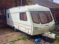 Lunar 4 berth Caravan cheapest in uk £400 ono