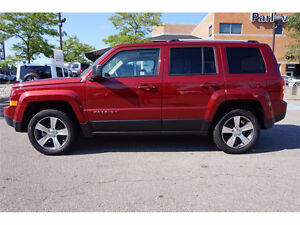 2016 Jeep Patriot High Altitude 4x4 Leather Seats Navigation BT
