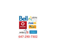 Great deal for Bell/Rogers/CIK/Altima internet, tv and phone