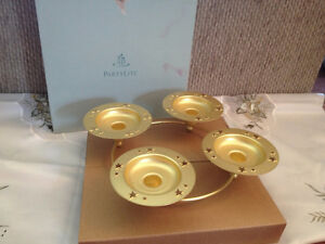 Flaming Star Candle Holder by Partylite -