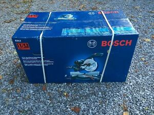 Bosch 5312 sliding compound miter saw - New