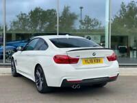 2018 BMW 4 SERIES DIESEL COUPE 420d (190) xDrive M Sport 2dr Auto (Prof Media) C