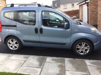 Fiat Qubo 2010 automatic 12,450miles WAV/ wheelchair adapted
