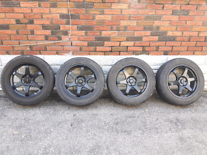 Very good condition Black rims and tires