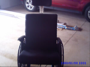 REDUCED ***wheel chair with head rest bought in July 2015