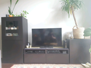 TV Stand and Cabinet Storage Set from Ikea