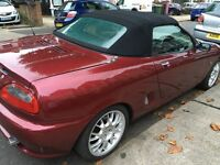 MG MGF SPORT CONVERTIBLE SERVICE HISTORY 1 OWNER FROM NEW