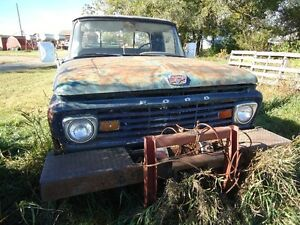 1964 Ford F100 4X4$1250 East of Oyen in Sibbald AB