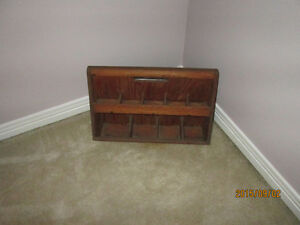 Antique wood tool box, caddy Kitchener / Waterloo Kitchener Area image 2