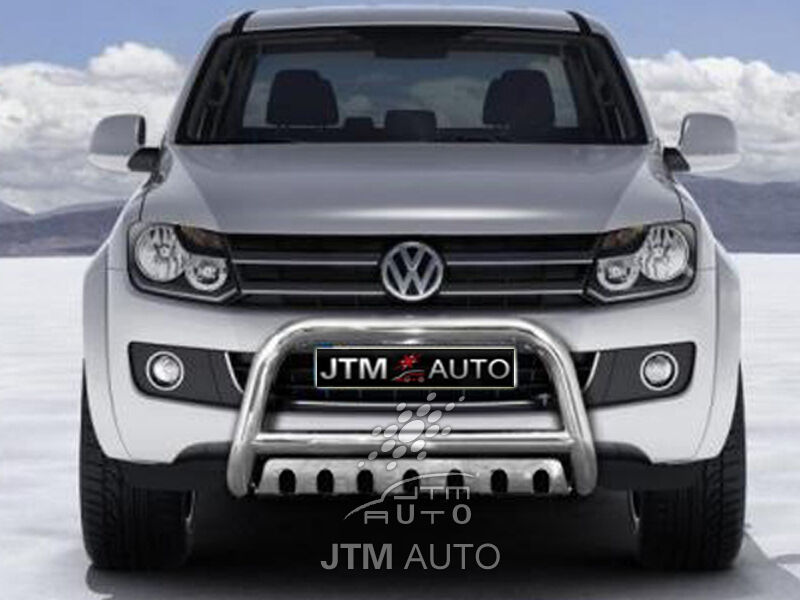"Suits Volkswagen VW Amarok Nudge Bar 3"" Stainless Steel Grille Guard 2010-2018"