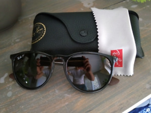 Ray-ban Erika polarized sunglasses with case and cloth