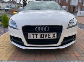 Audi TT Cherished Plate - TT10 VEX