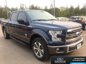 2015 Ford F-150 King Ranch|Twin Panel Moonroof|Adaptive Cruise|F