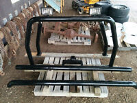 custom pipe bumpers and roll bar