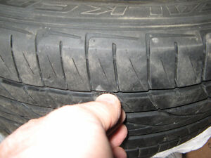 FREE 195/55R15 Four Summer Tread Tires in 6 Mile