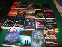 suzanne brockmann books $1 each or $15 for the lot