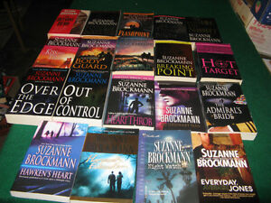 suzanne brockmann books $1 each or $15 for the lot St. John's Newfoundland image 1