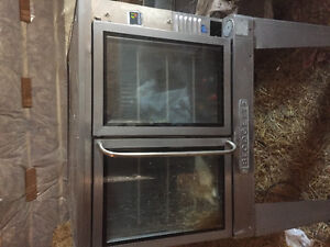 Convection smoker stainless