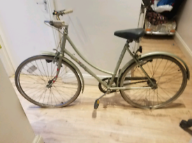 Ladies BSA pedal bike
