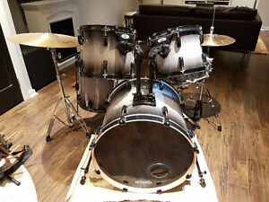 Pearl Vision Birch 5pc with cymbals and hardware