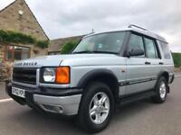 2002 LAND ROVER DISCOVERY 2.5 TD5 GS AUTOMATIC 7 SEATER