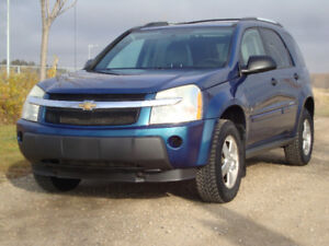REDUCED!! $4900 2006 CHEVROLET EQUINOX SUV EXCELLENT COND! $4900