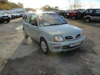 2002 Nissan Micra 1.0 S. Only 65,000 miles. 2 owners with FSH.
