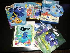 finding dory books
