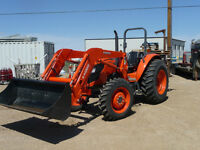 Kubota 8560 AWD Diesel Tractor with Front End Loader