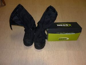 NEOS OVERSHOES--ALL BLACK