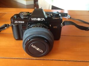For Sale:  35 mm Minolta X-700 Camera