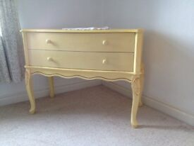 Drawers/ dressing table.