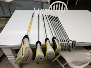 Entire set of Nike golf clubs
