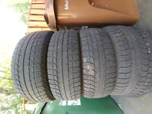S> set of tires 195/55R15 Michelin X-ice