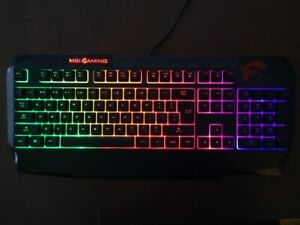 clavier gaming keyboard msi DS4200