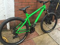 Hard tail mountain bike mtb not dh xc