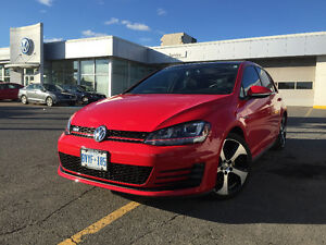 2015 Volkswagen GTI Loaded 5dr Manual Leather + Nav