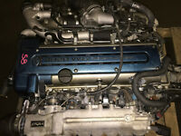 TOYOTA ARISTO 2JZ-GTE TURBO ENGINE AUTO TRANSMISSION