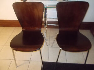 Pair of Mid Century Inspired Chairs