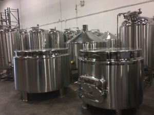 Brewing Equipment Auction:  Tanks, Bottle Lines, and Much More!
