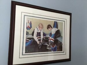 "NL artist Dawn Baker framed art ""Teammates"" ($160 value) St. John's Newfoundland image 1"
