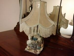 Victorian Style Lamp with shade London Ontario image 1